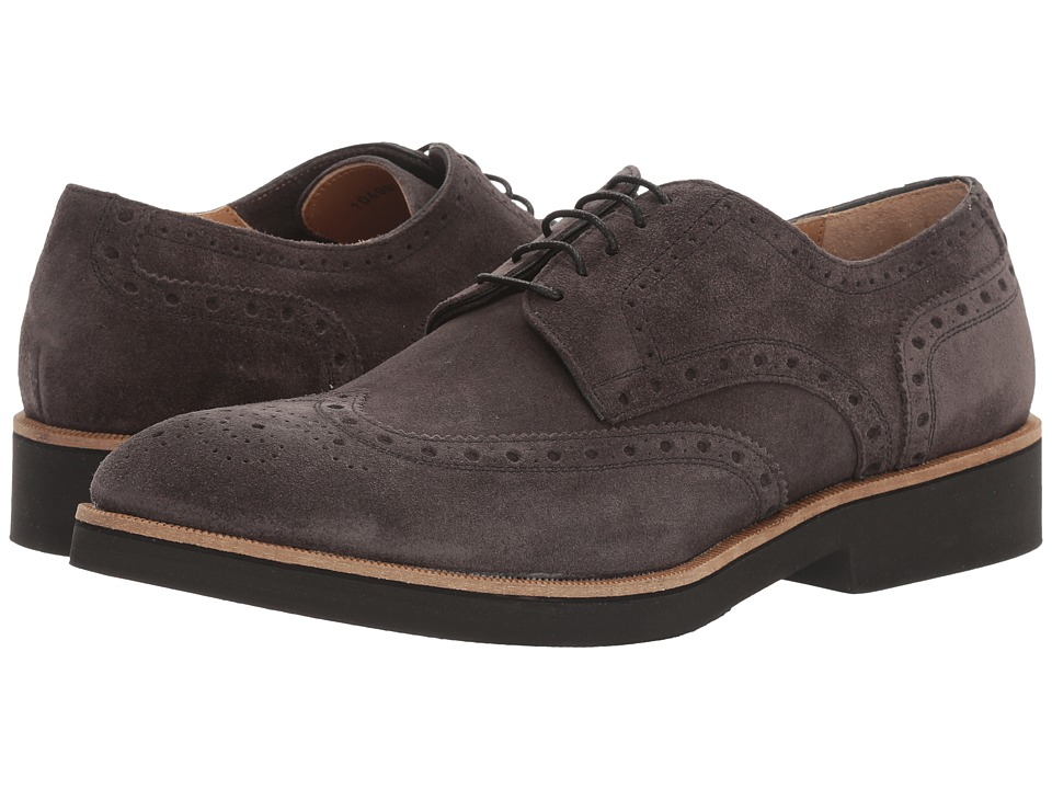 Gordon Rush - Dominic (Grey Suede) Men's Lace up casual Shoes