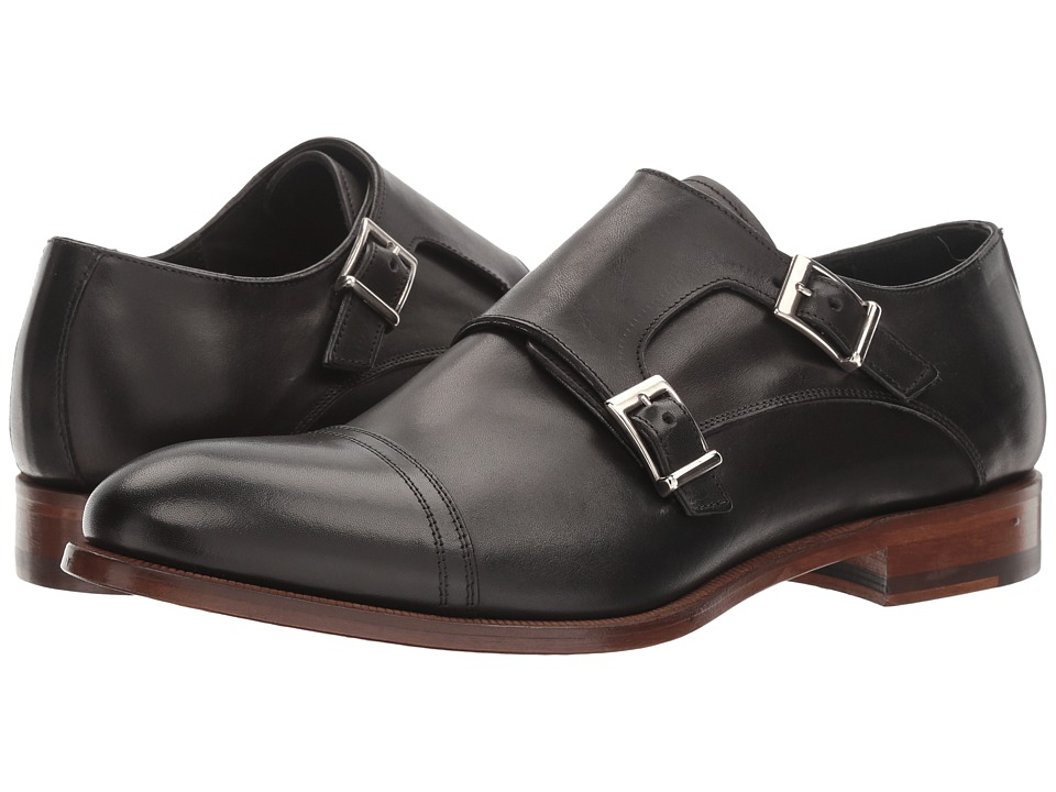 Gordon Rush - Grayson (Black) Men's Slip on Shoes