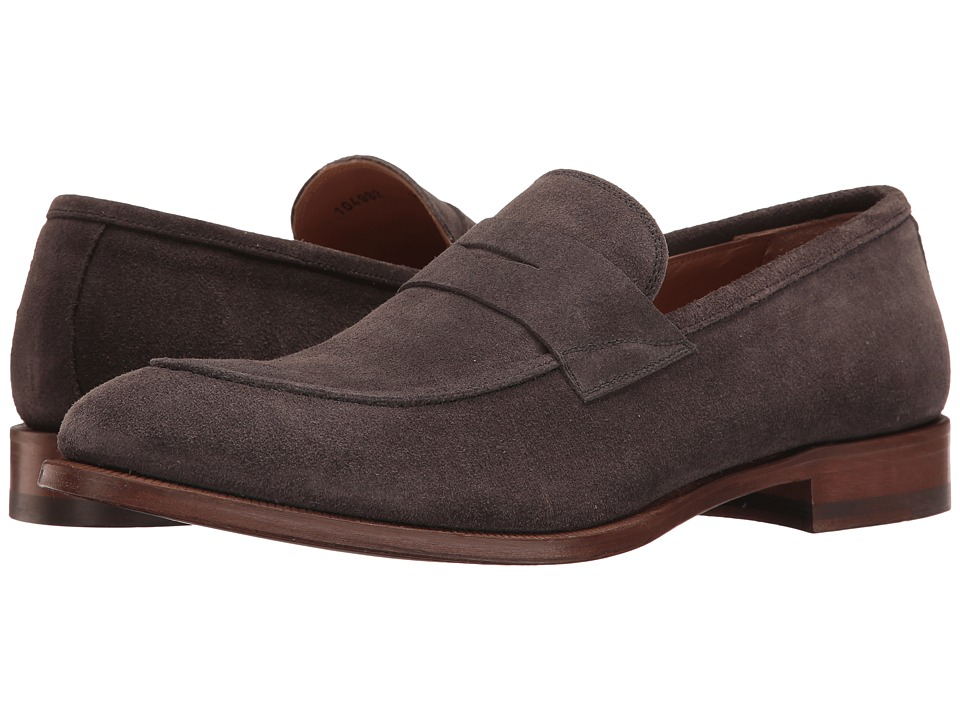 Gordon Rush - Daniel (Grey) Men's Slip on Shoes