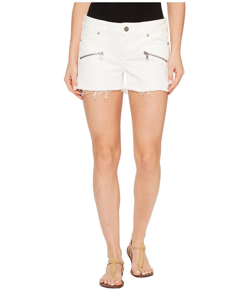 Paige - Indio Zip Shorts in Optic White (Optic White) Women's Shorts