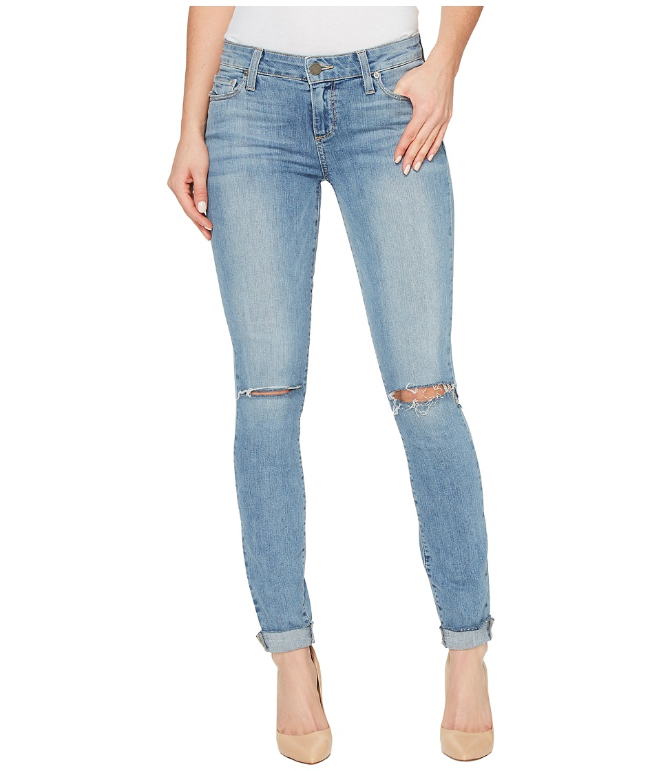 Paige - Verdugo Ankle with Raw Hem Cuff in Bella Destructed (Bella Destructed) Women's Jeans