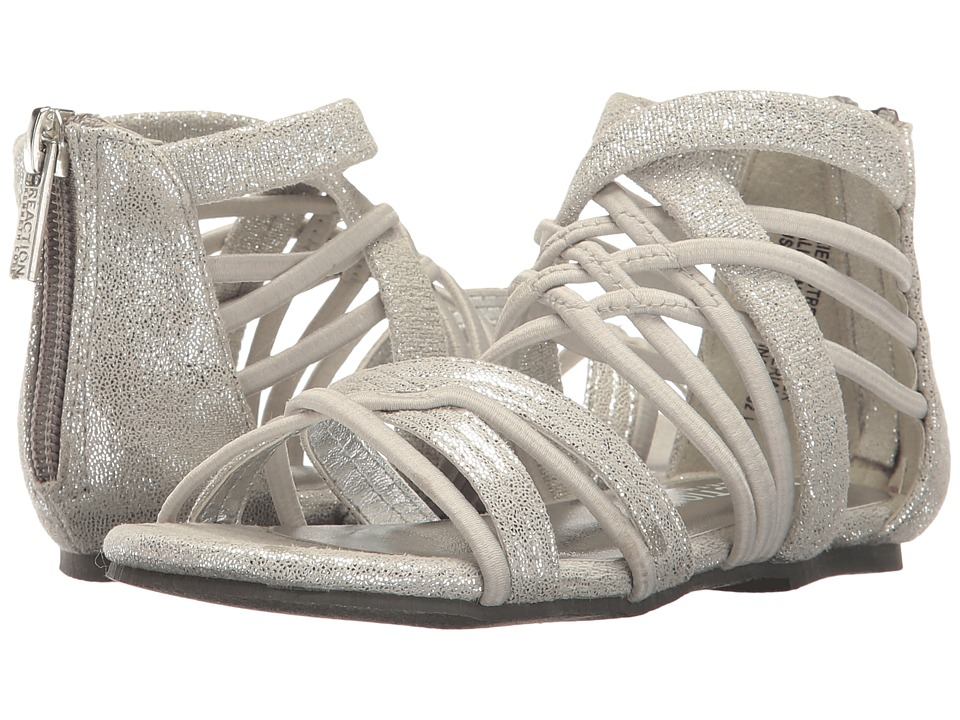 Kenneth Cole Reaction Kids - Kiera Stretch (Toddler) (Silver) Girl's Shoes