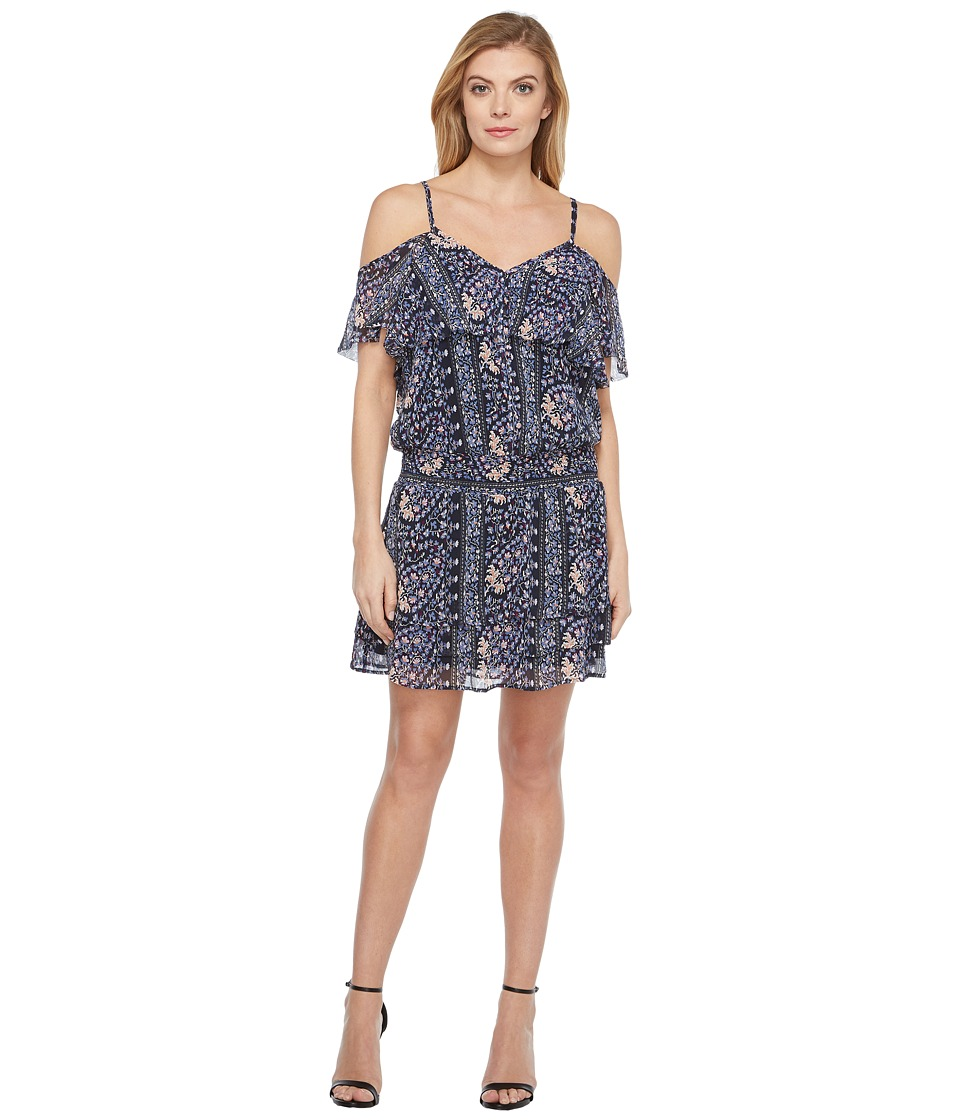 Paige - Olympia Dress (Dark Ink Blue/Bouquet) Women's Dress