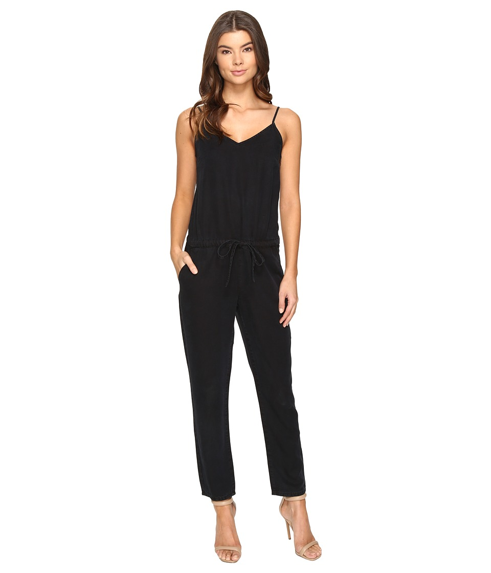 Paige - Suki Jumpsuit (Black Pearl) Women's Jumpsuit & Rompers One Piece