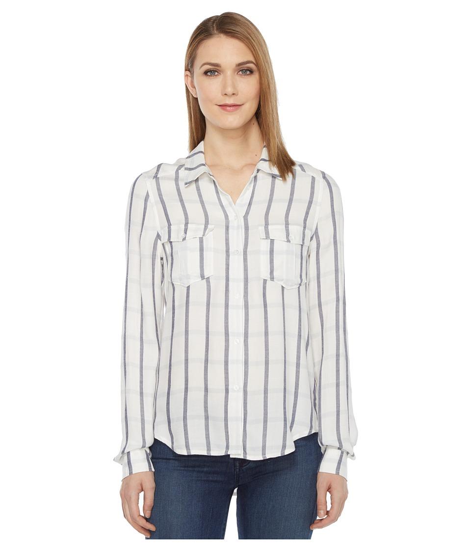 Paige - Mya Shirt (Cream/Phantom) Women's Clothing