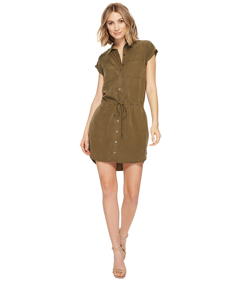 Paige - Mila Shirtdress (Desert Olive) Women's Dress