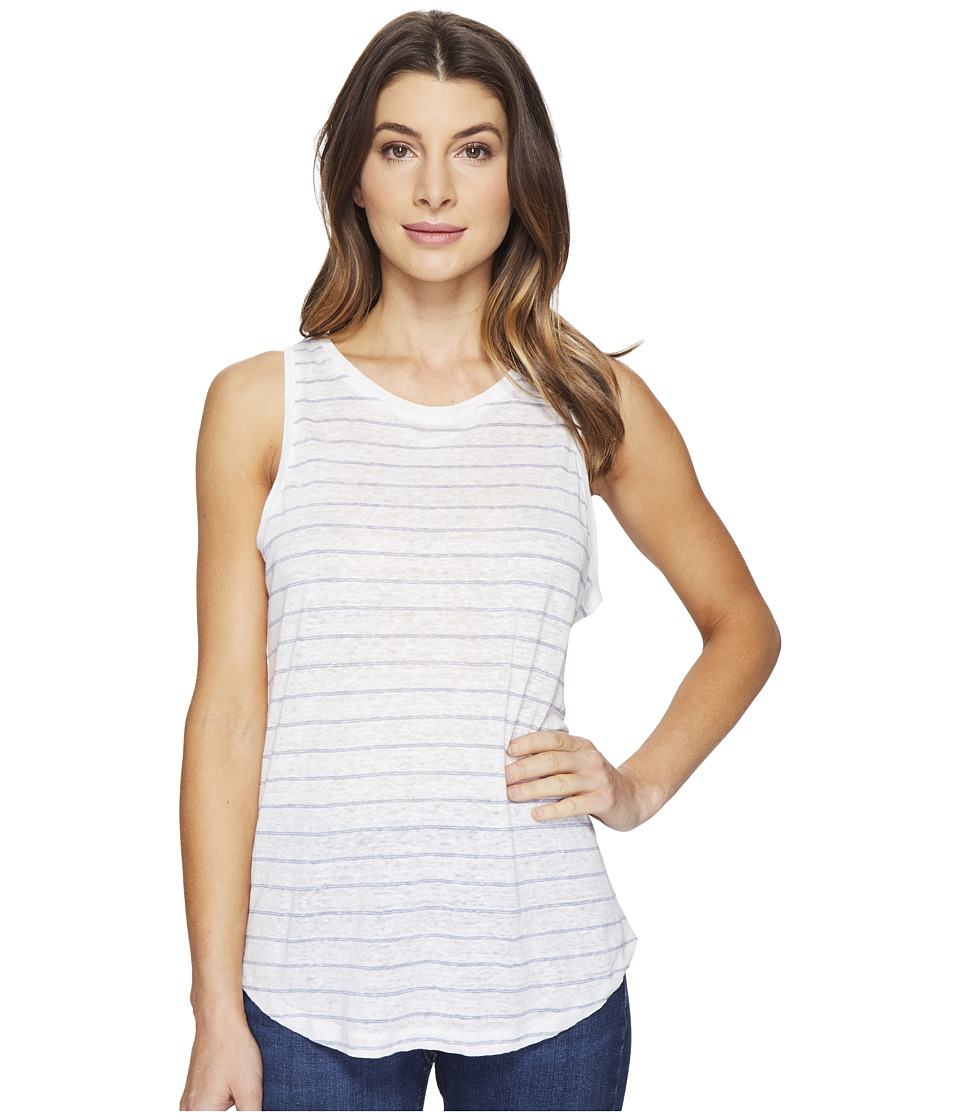 Paige Analia Tank Top (White/Infinity) Women