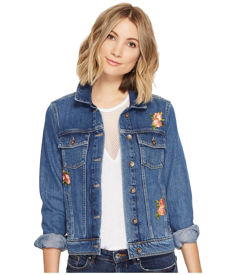 Paige - Rowan Jacket (Indigo Rosemont Patch) Women's Jacket