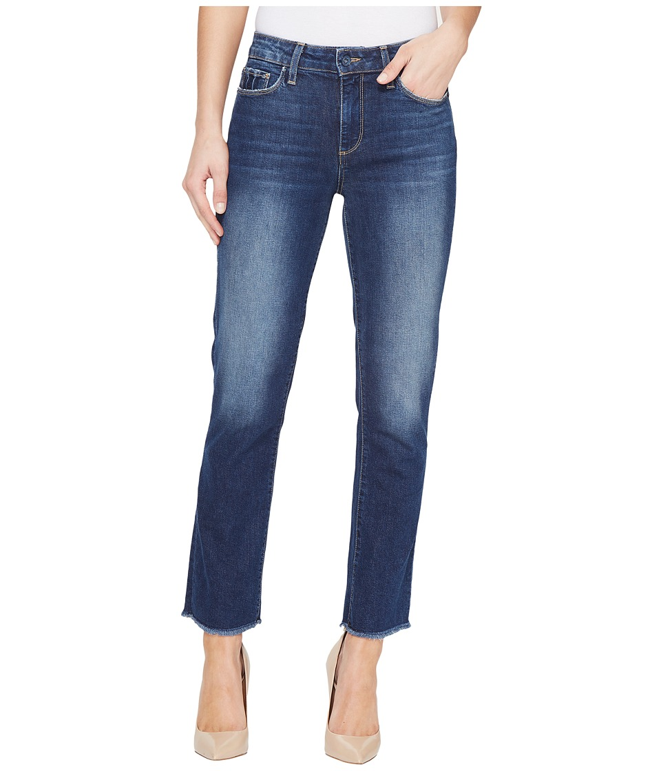 Paige - Jacqueline Frayed Hem w/ Shadow Pocket in Domino (Domino) Women's Jeans