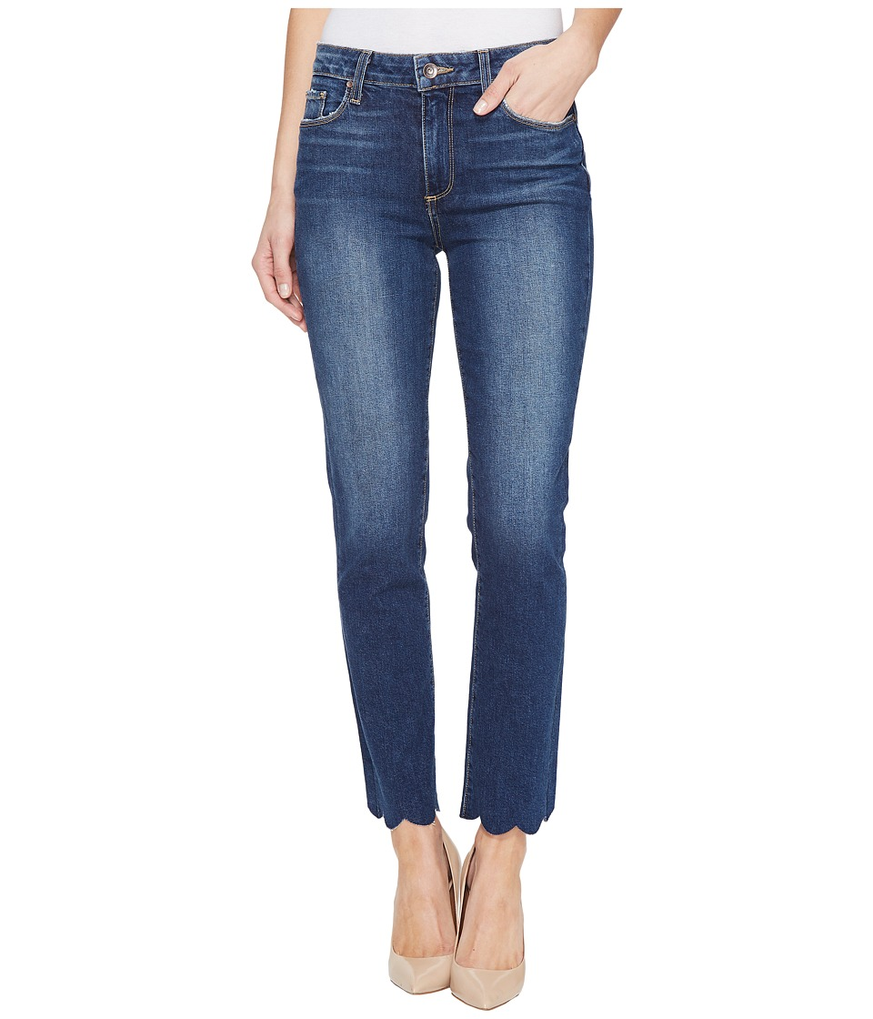Paige - Jacqueline Straight w/ Scallop Hem in Florence (Florence) Women's Jeans