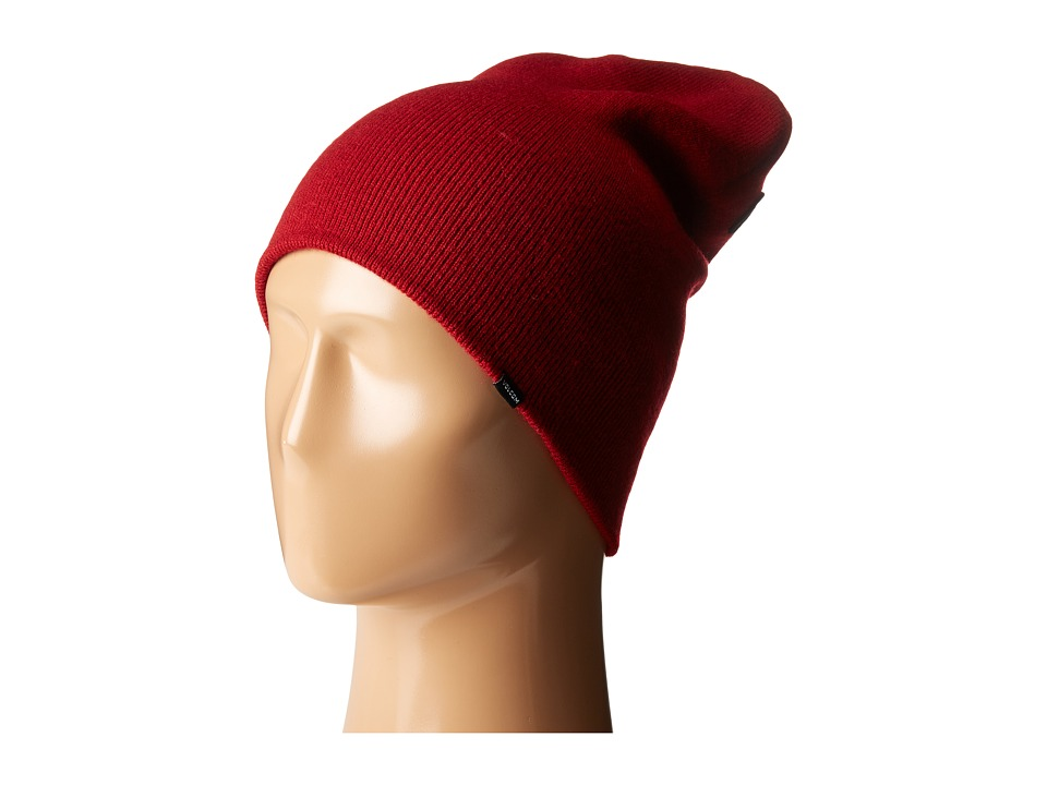 Volcom - Modern Beanie (Blood Red) Beanies