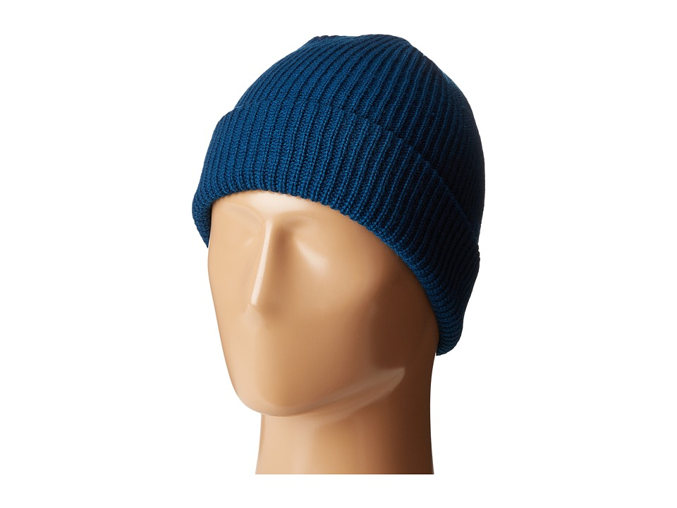 Volcom - Sweep Beanie (Blue Black) Beanies
