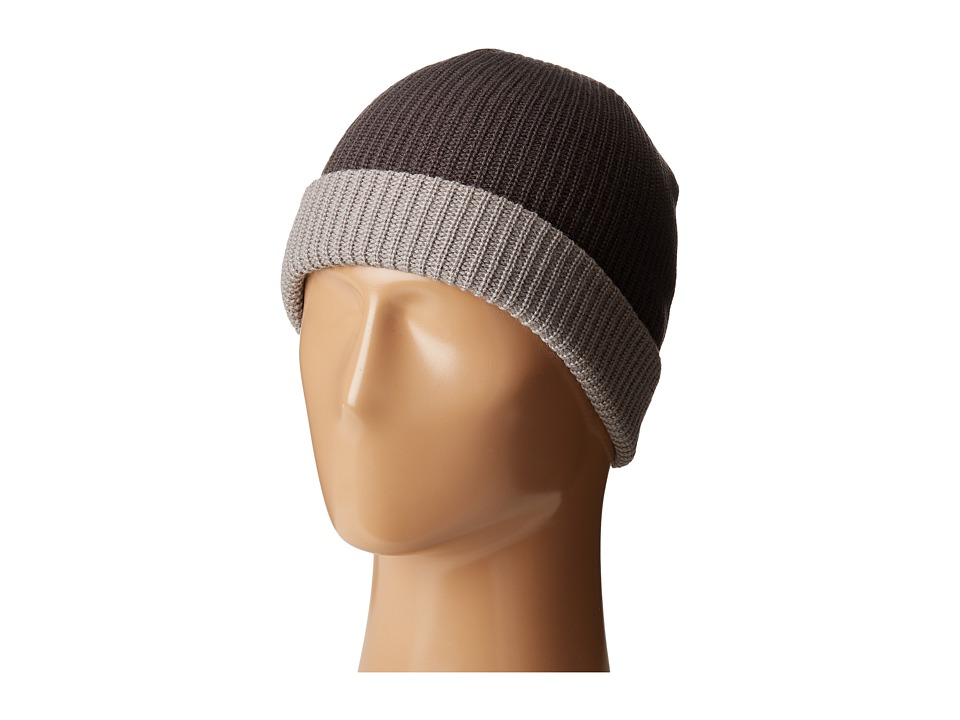 Volcom - Two-Tone Sweep Beanie (Charcoal) Beanies