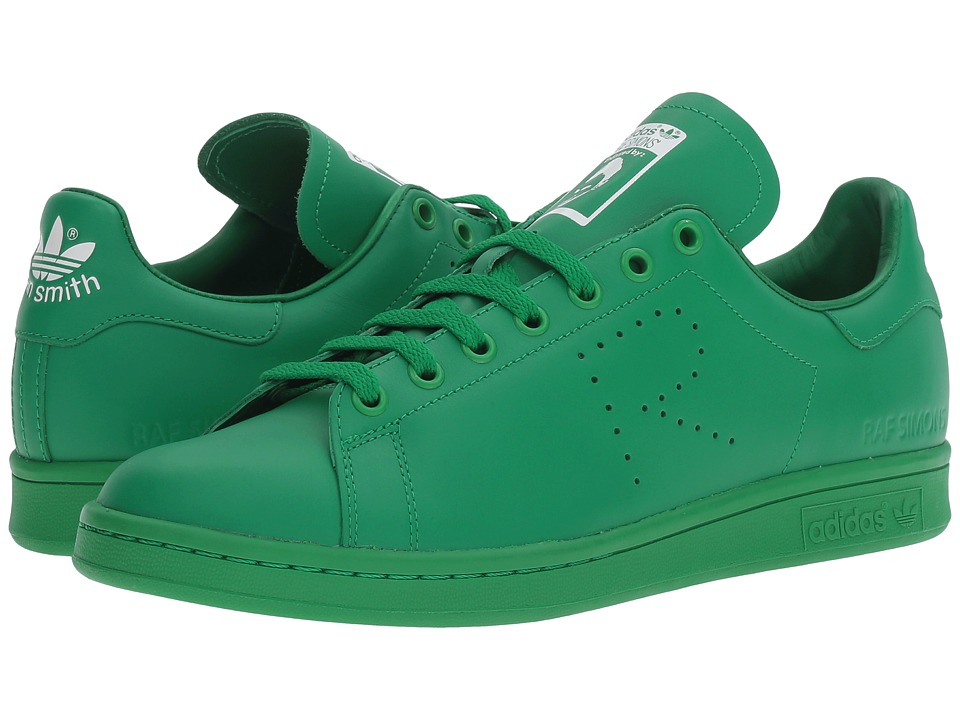 adidas by Raf Simons - Simons Stan Smith (Green/Footwear White/Green) Lace up casual Shoes