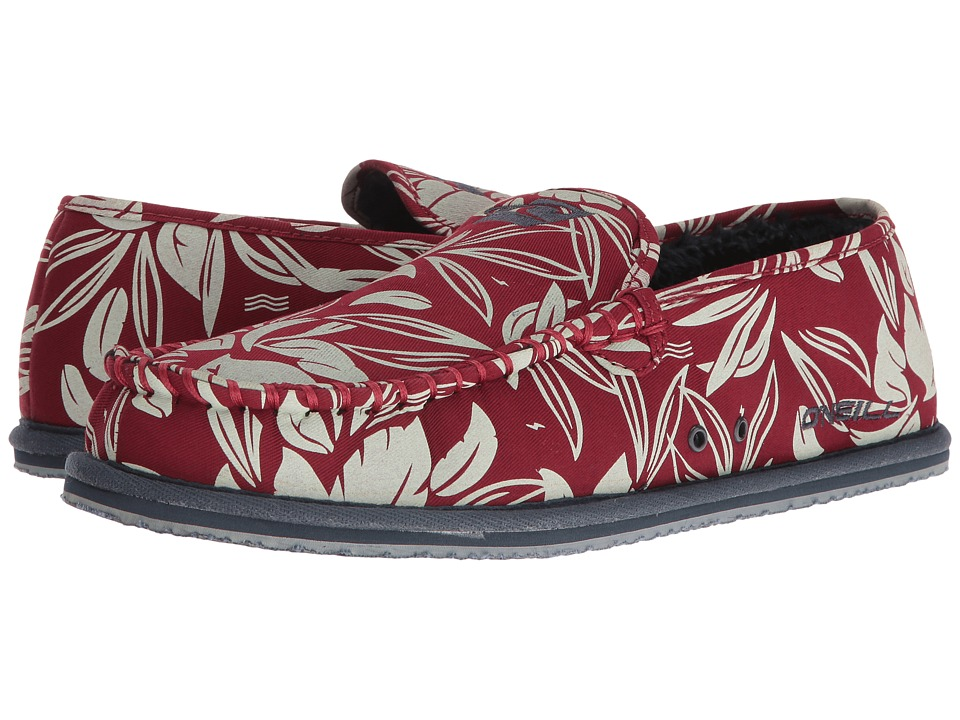 O'Neill - Surf Turkey Low (Deep Red) Men's Slippers