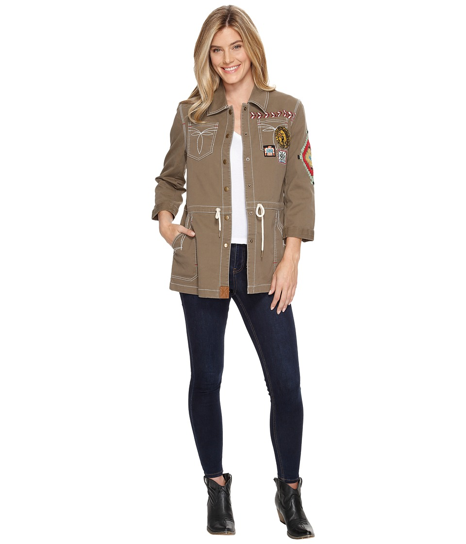 Double D Ranchwear - Chief Five Thunder Field Jacket (Thornbush) Women's Coat