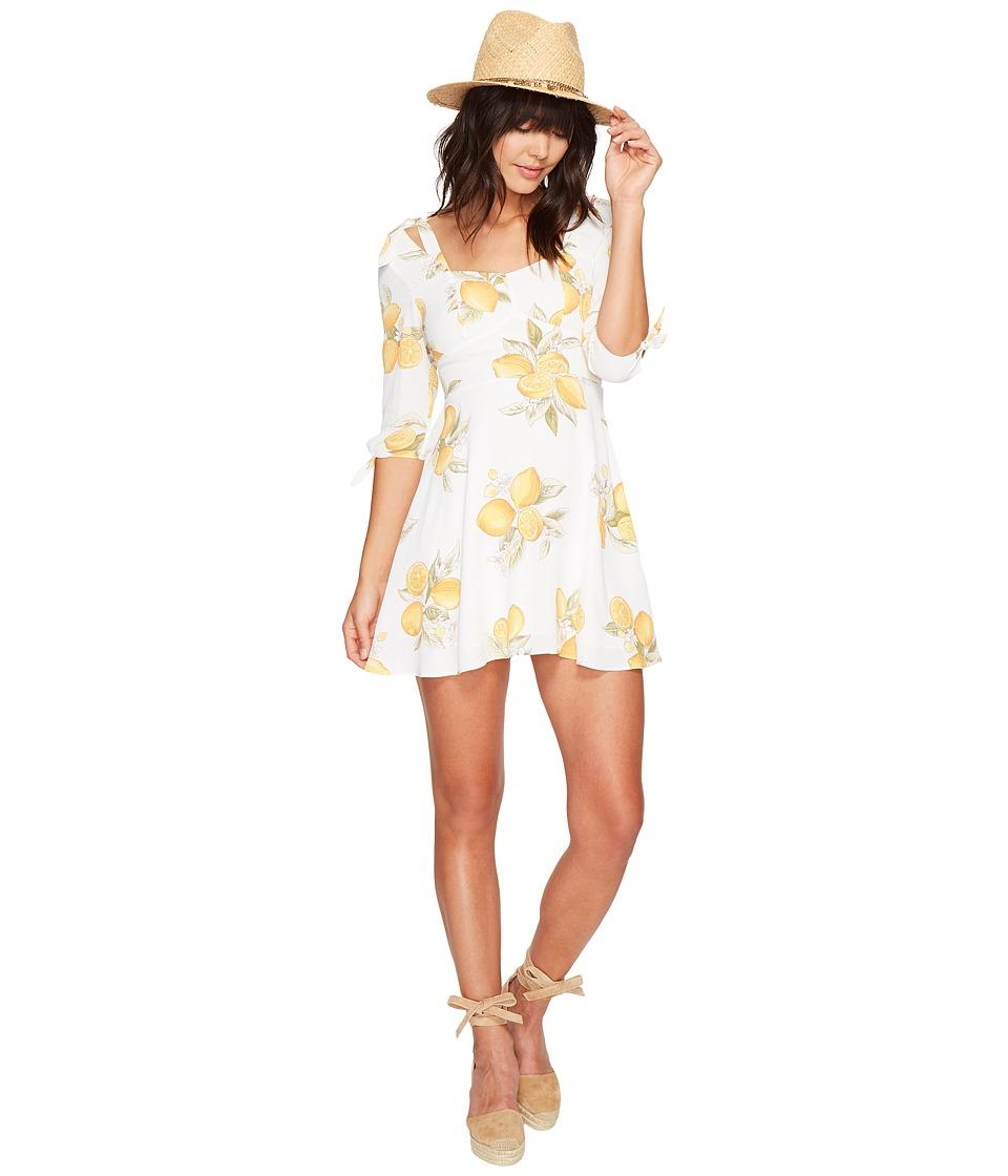 For Love and Lemons Limonada Mini Dress