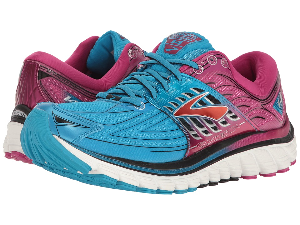 Brooks - Glycerin 14 (Dresden Blue/Festival) Women's Running Shoes