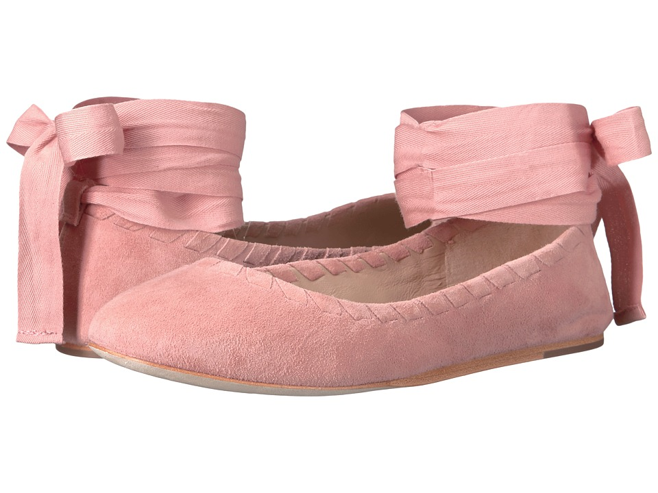 Via Spiga - Baylie (Salmon Suede) Women's Shoes
