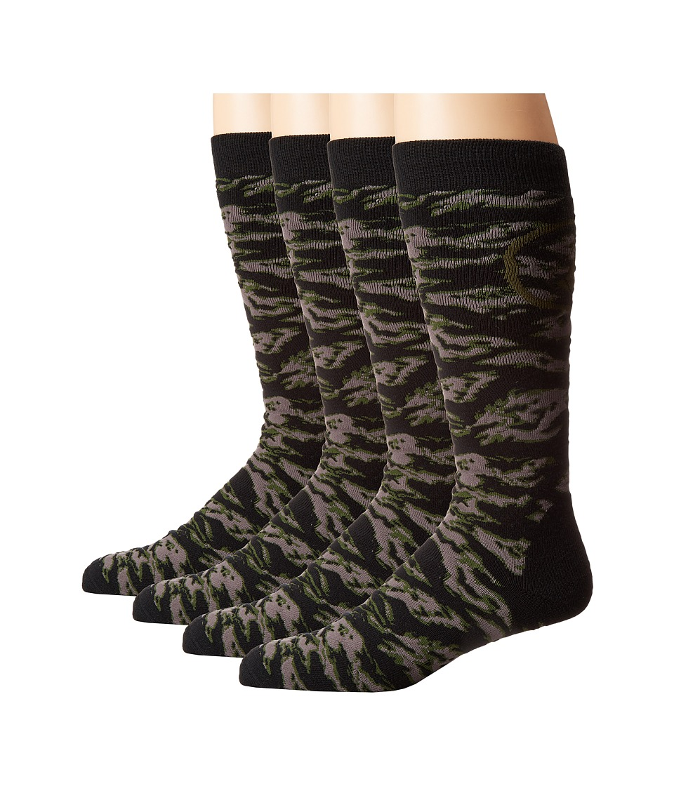 Volcom - Ryder Socks (Camouflage) Men's Crew Cut Socks Shoes