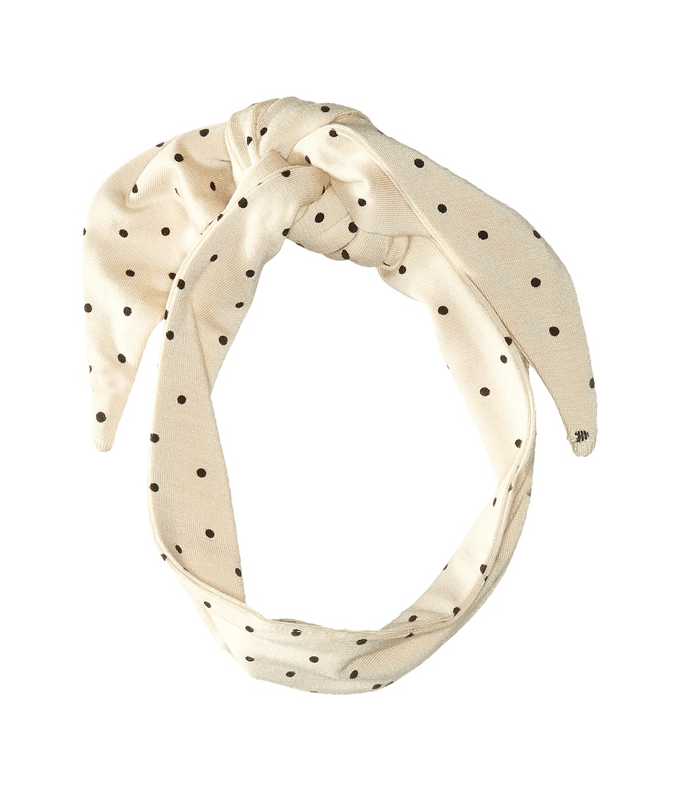 For Love and Lemons - Neck Scarf (Cream Polka Dot) Scarves
