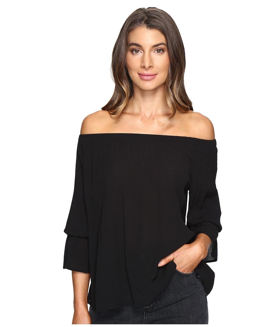 Sanctuary - Charlotte Top (Black) Women's Clothing