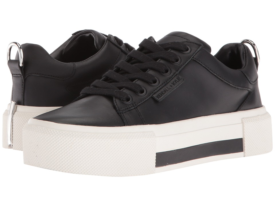 KENDALL + KYLIE - Tyler (Black Leather) Women's Shoes