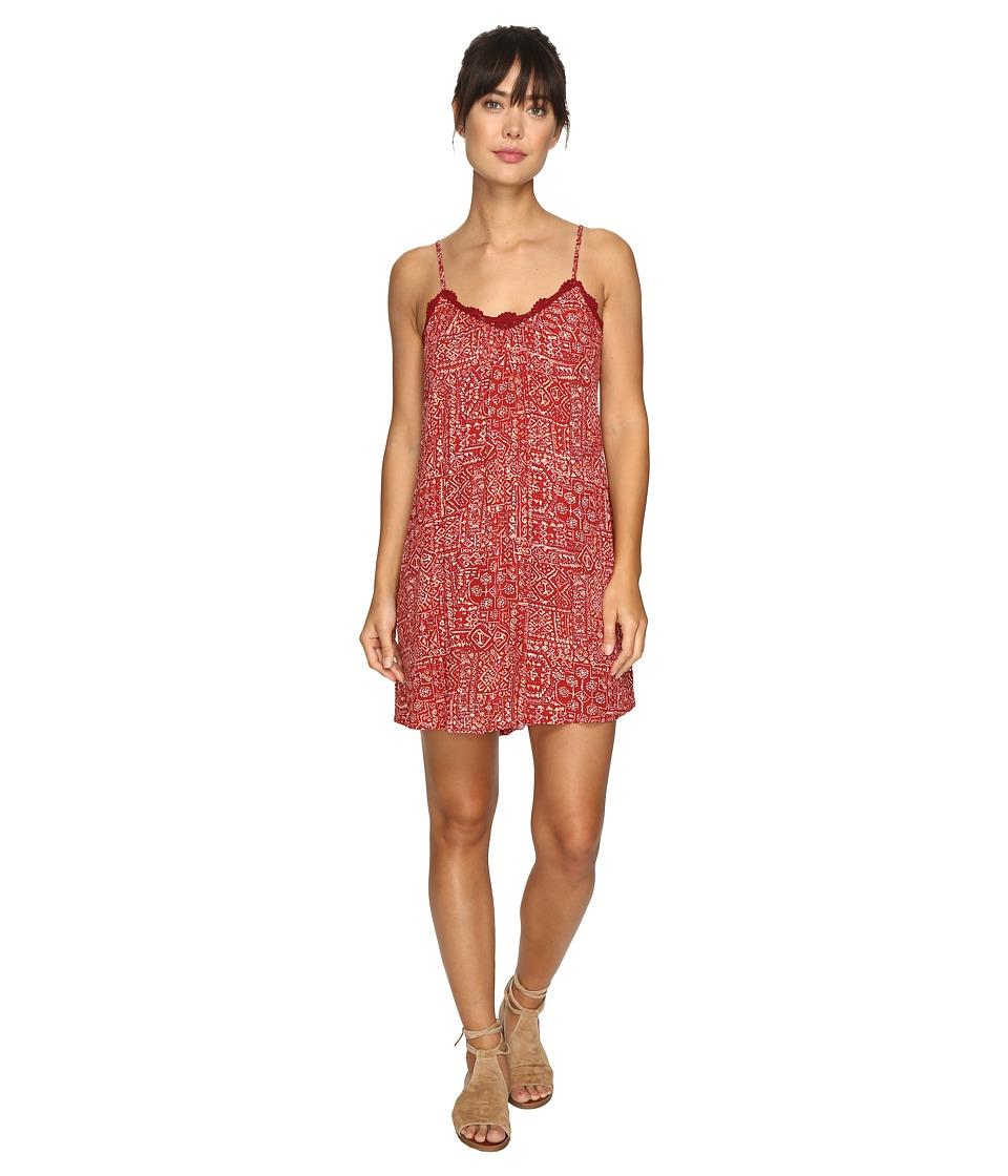 Volcom Rio Grand Mini Dress (Bark Brown) Women