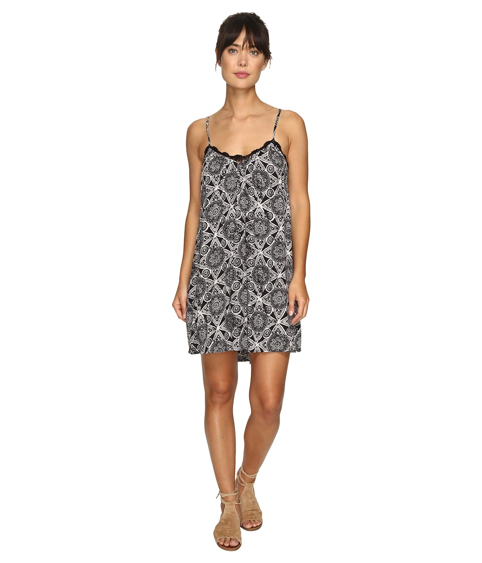 Volcom - Rio Grand Mini Dress (Black Combo) Women's Dress