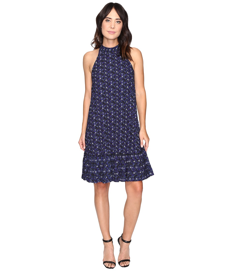 Nicole Miller - Royal Ditzy Pleated Dress (Multi) Women's Dress
