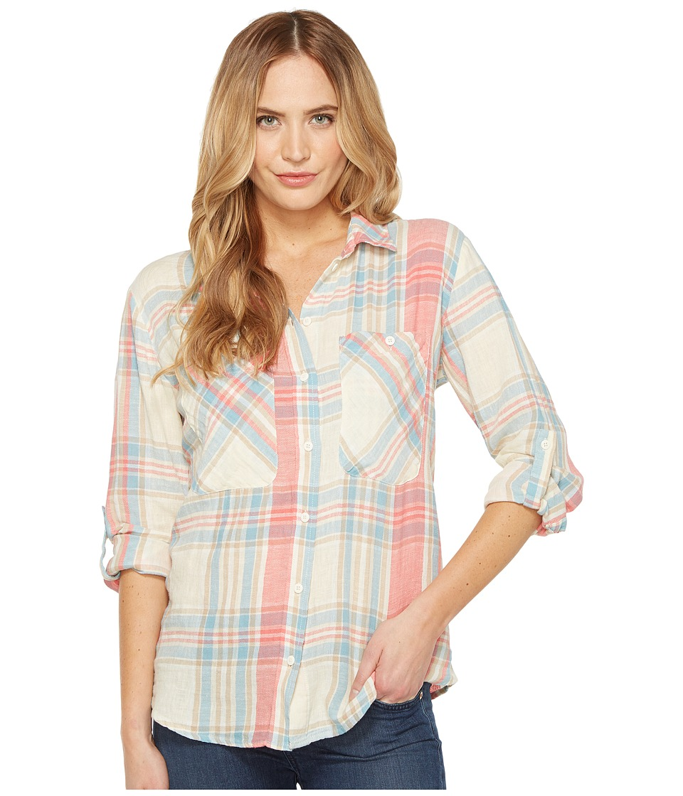 Sanctuary - The Steady Boyfriend Shirt (Simone Plaid) Women's Long Sleeve Button Up