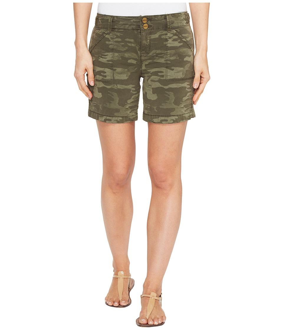 Sanctuary - Habitat Shorts (Safari Green Camo) Women's Shorts
