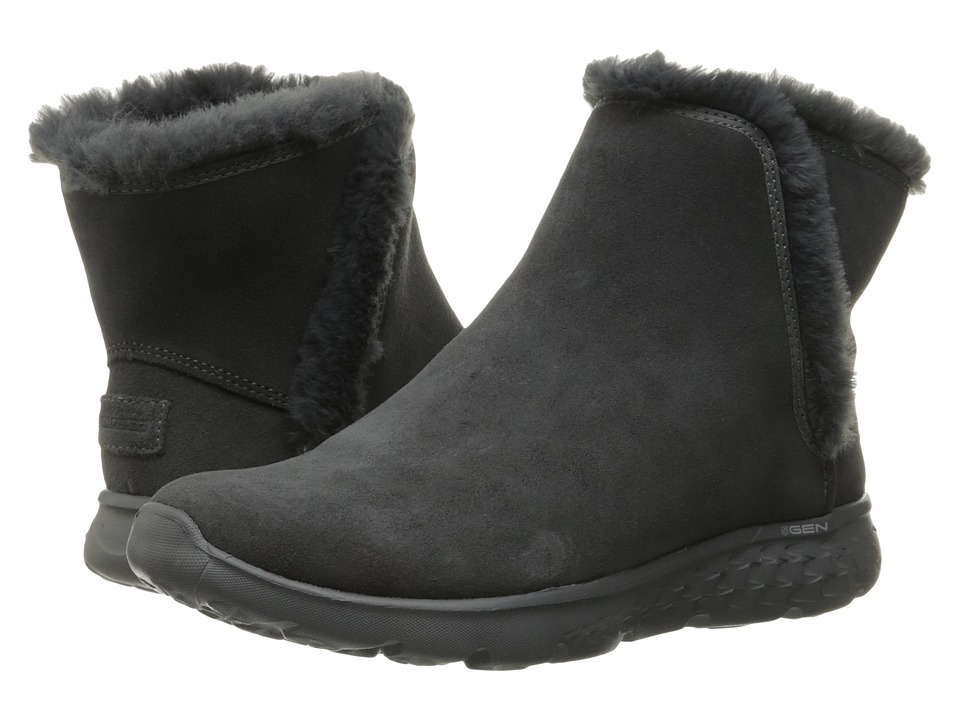 SKECHERS Performance - On-The-Go 400 - Blaze (Charcoal) Women's Boots