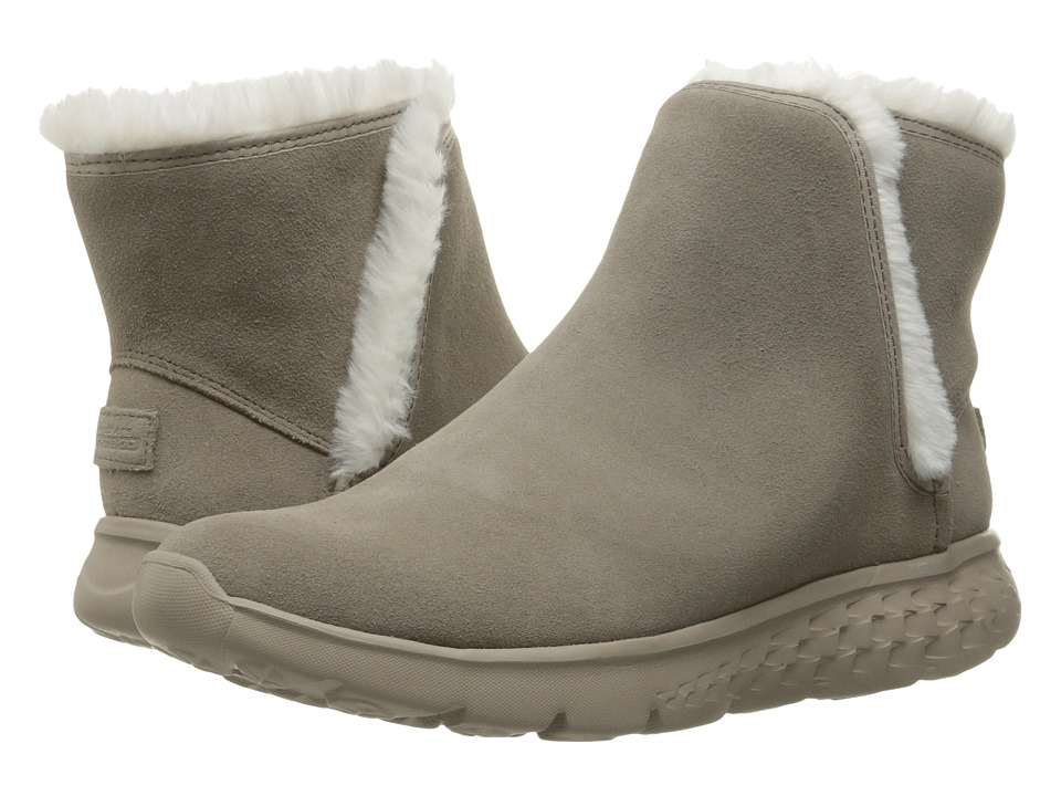 SKECHERS Performance - On-The-Go 400 - Blaze (Taupe) Women's Boots