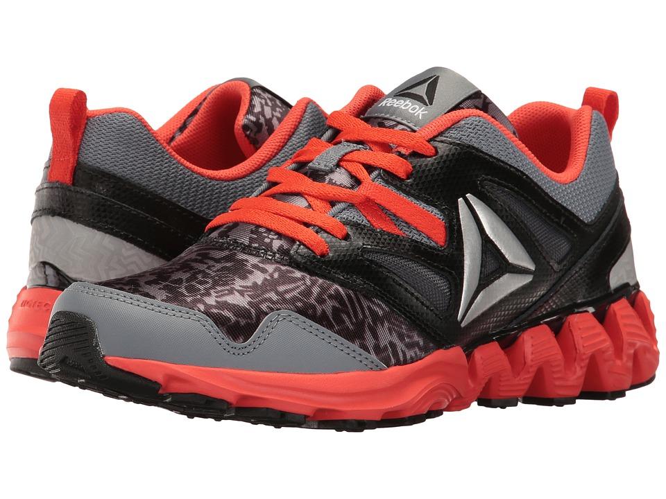 Reebok Kids - Zigkick 2K17 GR (Big Kid) (Asteroid Dust/Black/Carotene/Silver Metallic) Boys Shoes