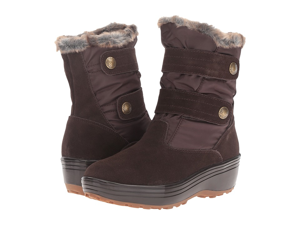 BOBS from SKECHERS - Alaska-Igloo (Chocolate) Women's Cold Weather Boots