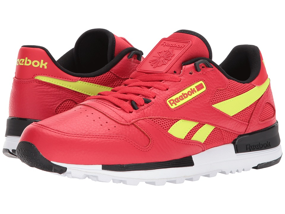 Reebok - Classic Leather Leather 2.0 (Primal Red/Black/Solar Yellow/White) Men's Shoes