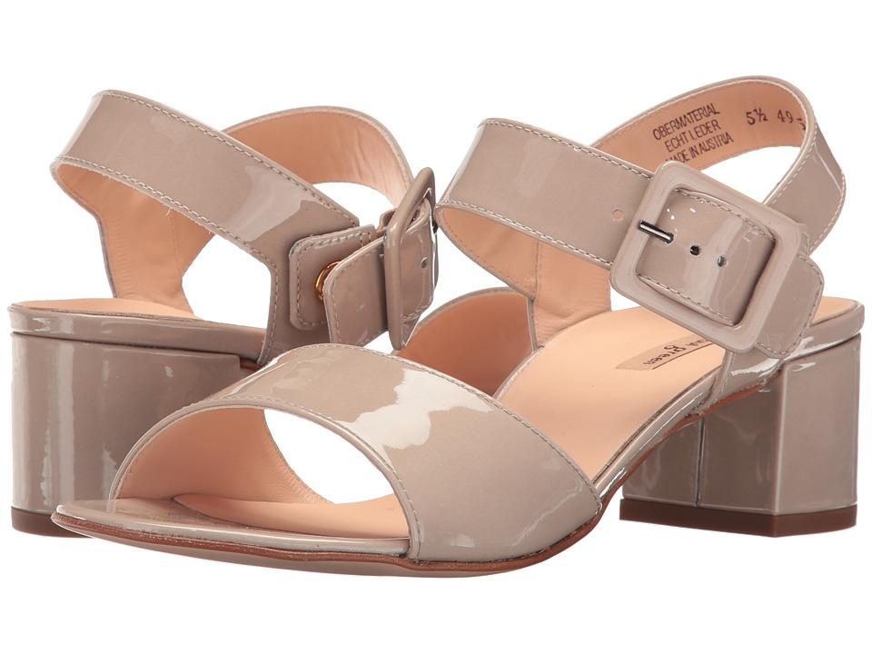 Paul Green - Nadine Sandal (Greige Patent) Women's Sandals