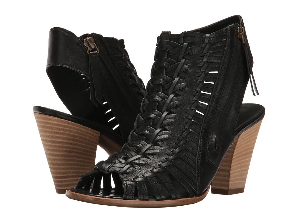 Paul Green - Miranda (Black Leather) Women's Shoes