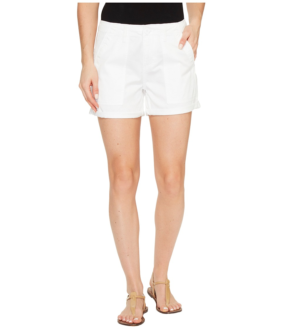 Sanctuary - Army Shorts (White) Women's Shorts