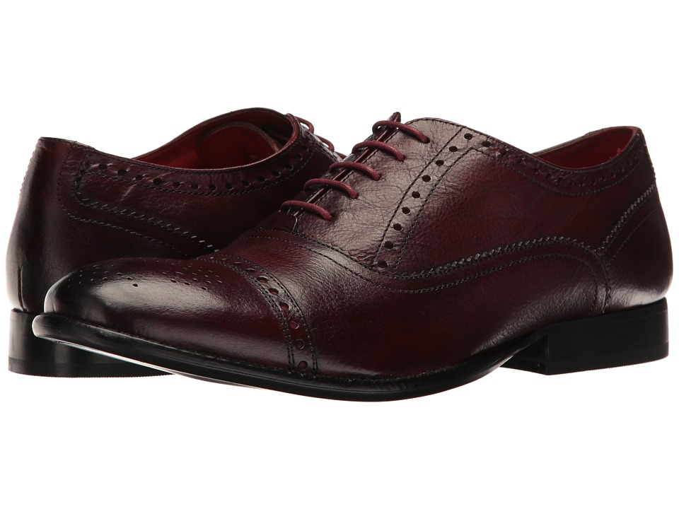 Base London - Raeburn (Bordo) Men's Lace up casual Shoes