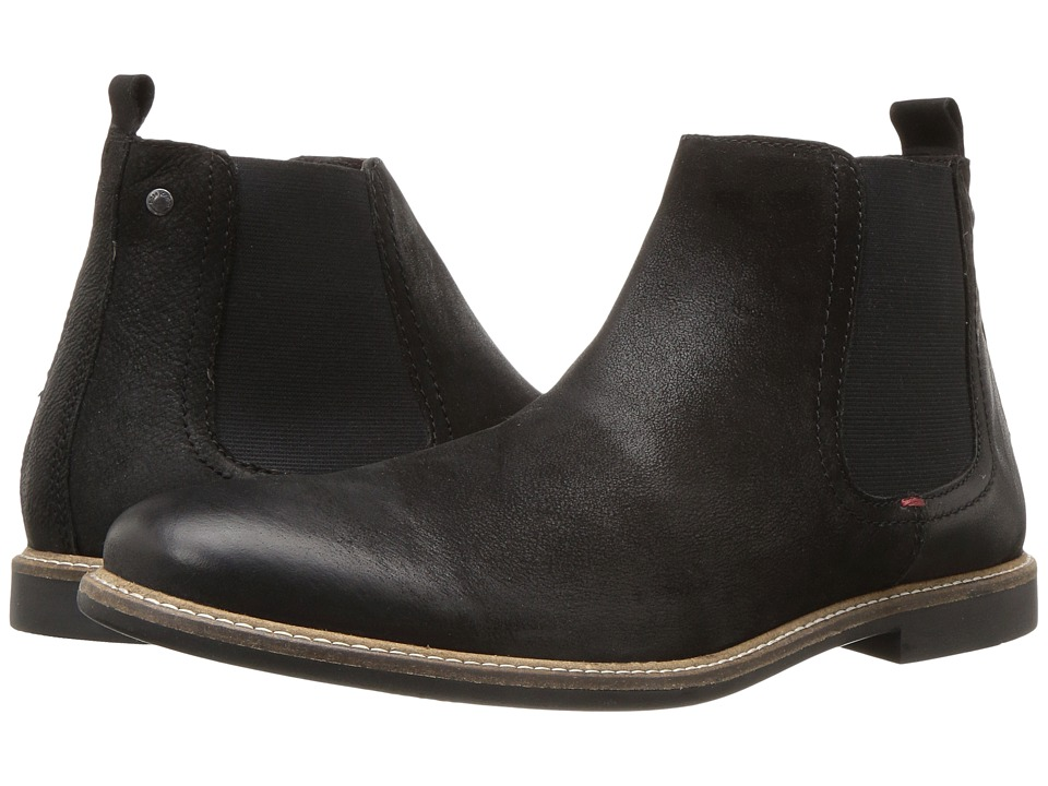 Base London - Ashdown (Black) Men's Boots