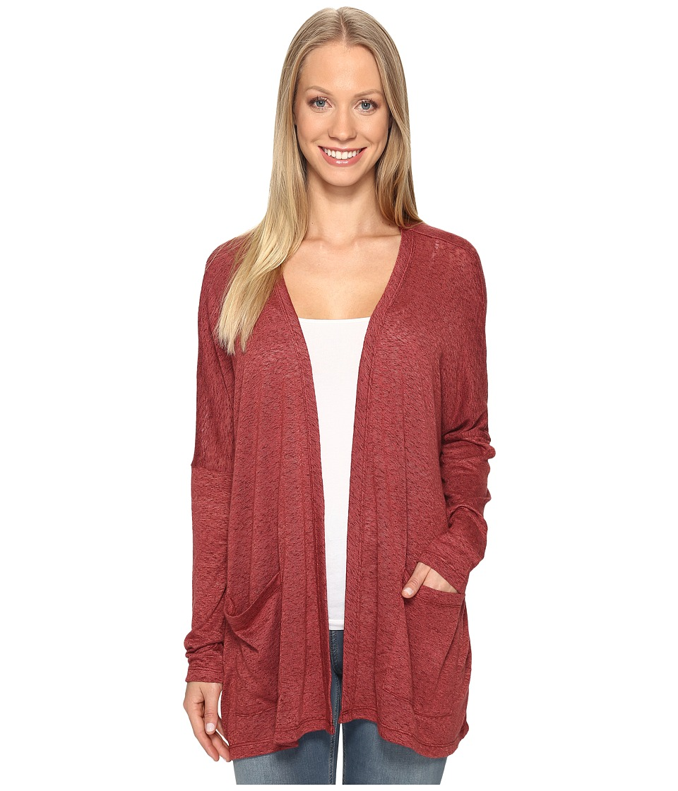 B Collection by Bobeau - Rumor Dolman Cardi (Spice) Women's Sweater