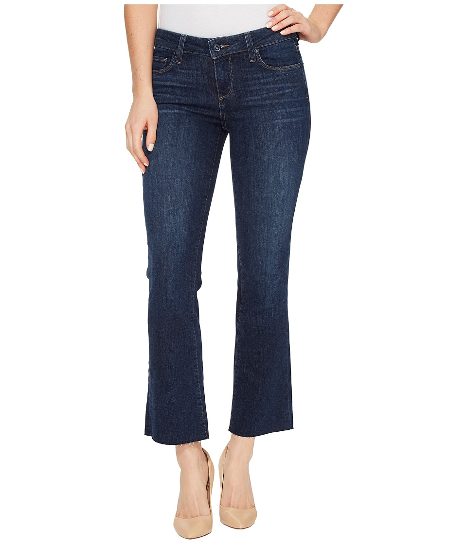 Paige - Riley Slim Crop Flare with Raw Hem in Larsen (Larsen) Women's Jeans