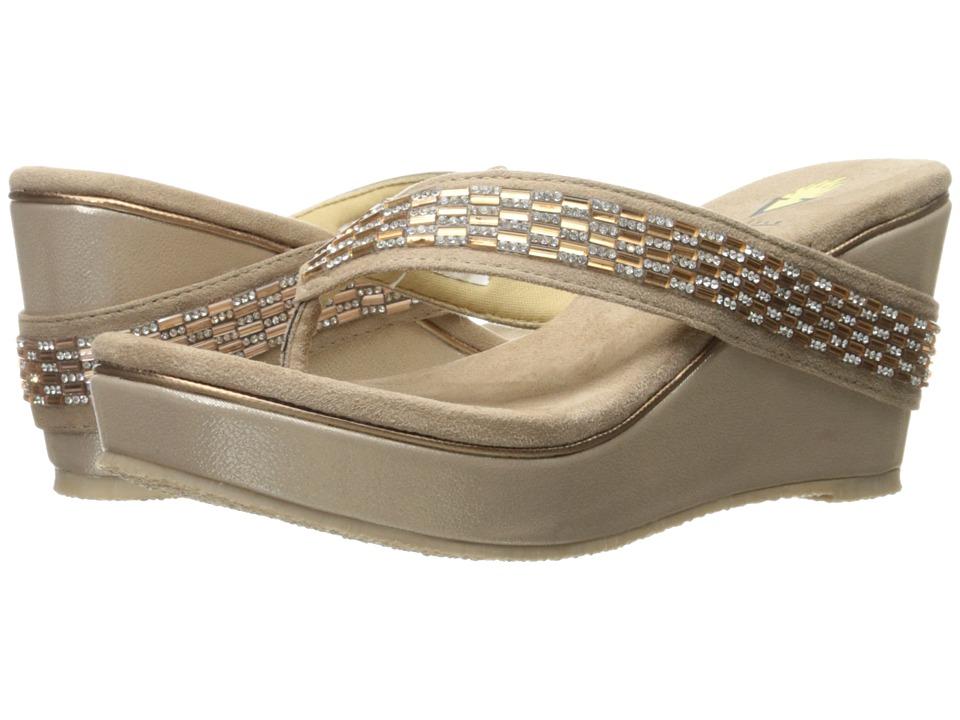 VOLATILE - Carilla (Taupe) Women's Sandals