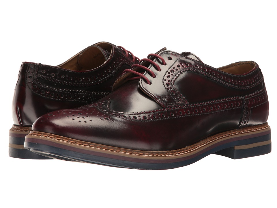 Base London - Turner (Bordo) Men's Lace up casual Shoes