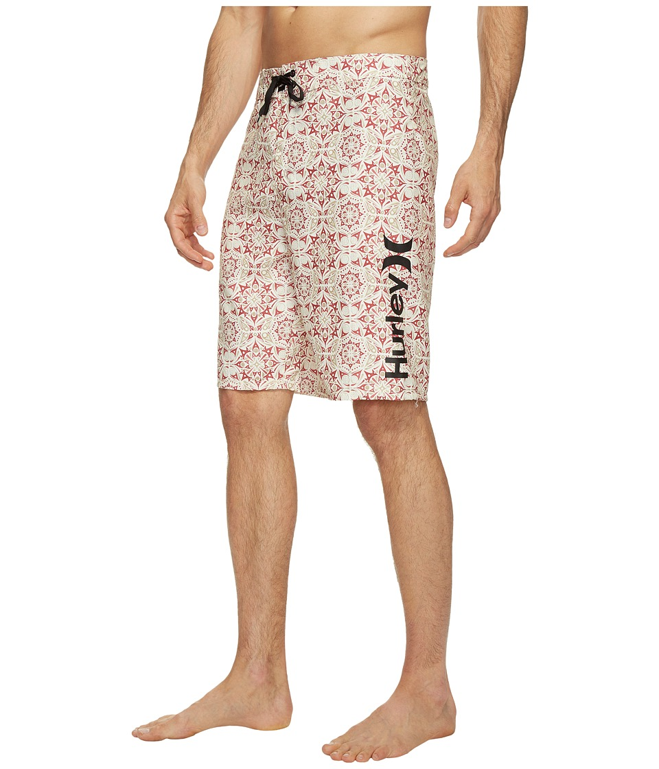 Hurley - Groves 21 Boardshorts (Ivory) Men's Swimwear