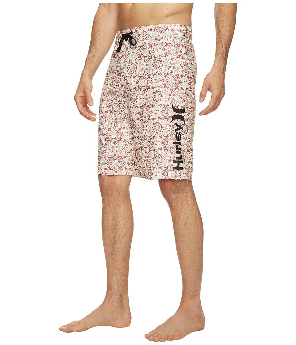 Hurley - Groves 21 Boardshorts (Ivory) Men's Swimwear