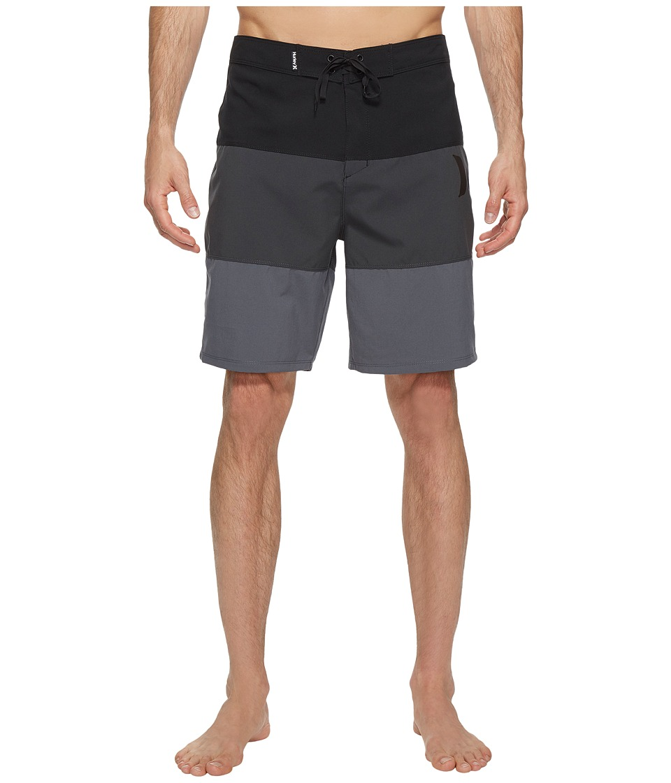 Hurley - Icon Sunset 20 Boardshorts (Black) Men's Swimwear