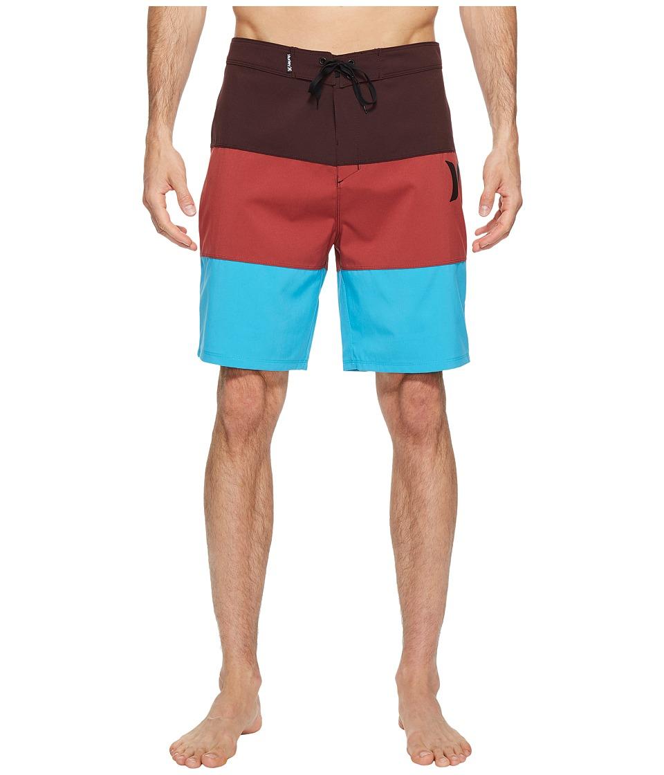 Hurley - Icon Sunset 20 Boardshorts (Mahogany) Men's Swimwear